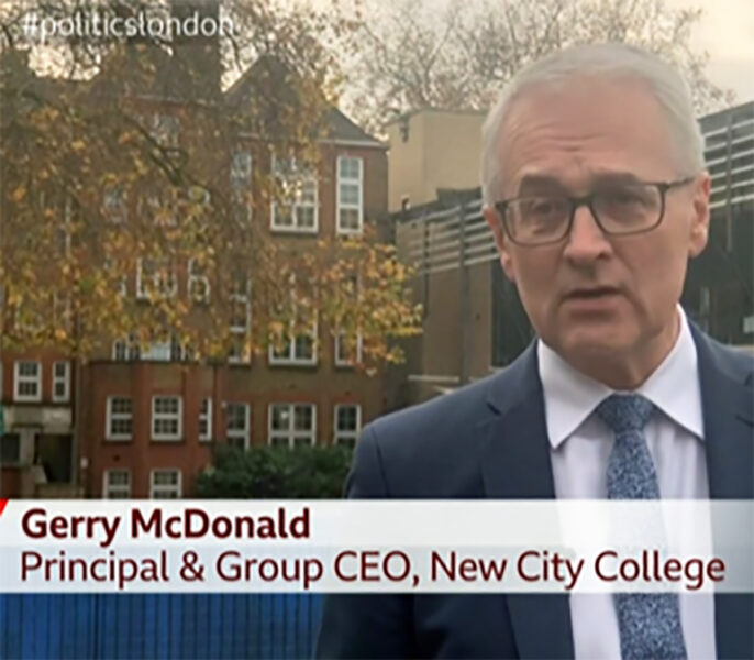 BBC programme highlights job retraining opportunities at New City College