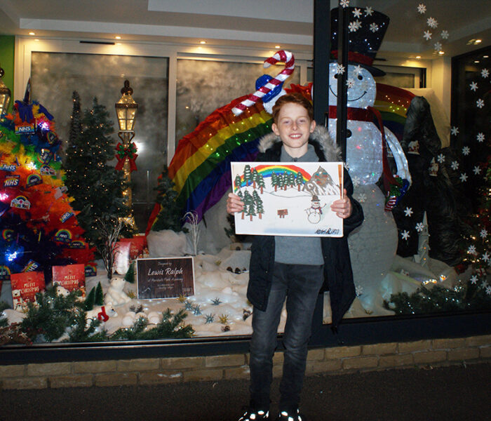 Window Wonderland winner Lewis lights up Collier Row
