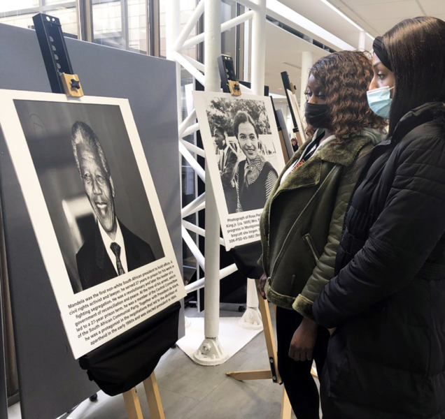 Posters and events bring Black History Month into focus