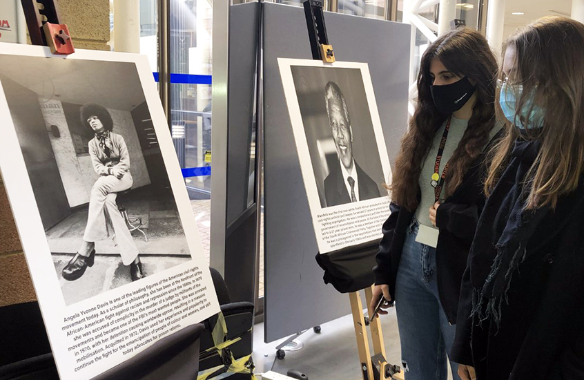 A striking display of influential, historical figures and the impact they have had on the world was a focal point for Black History Month at New City College campuses.