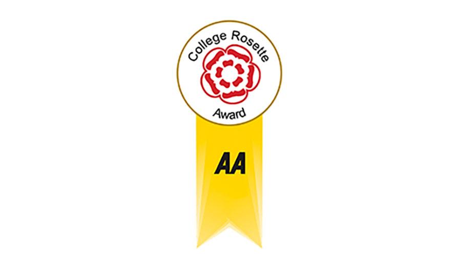 College-Rosette-Award