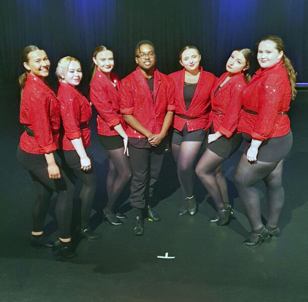 Dance and Performing Arts students from New City College Ardleigh Green perform at Hornchurch Festival of Lights online event for Christmas