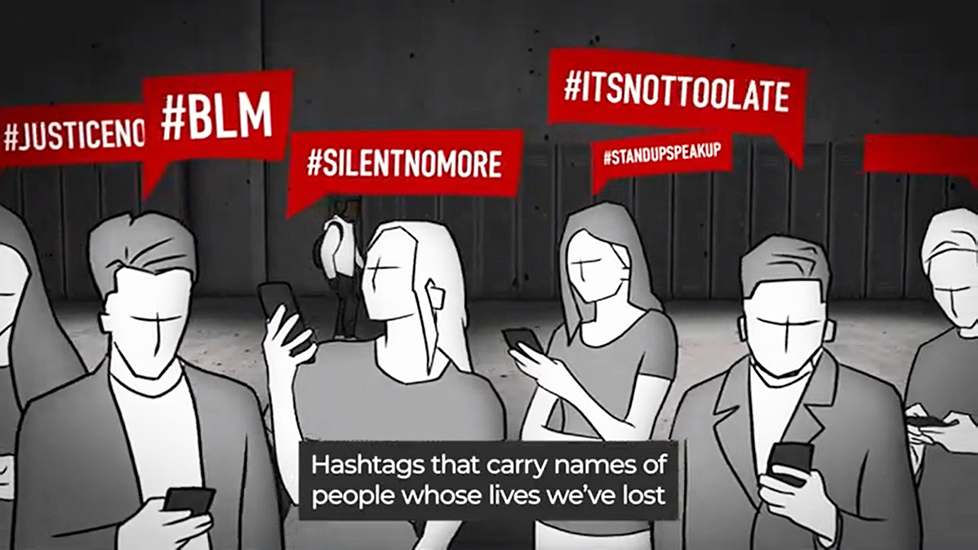 It All Adds Up – students' powerful animation shows the reality of racism in England