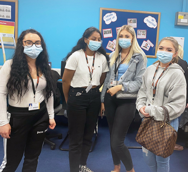 Students embrace nature theme for Mental Health Awareness week