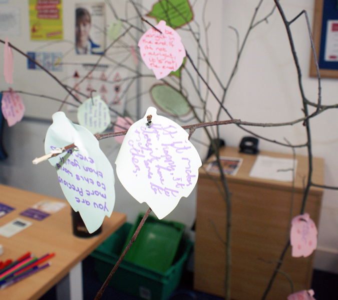 New City College marked Mental Health Awareness week with a series of activities and drop-in sessions for students on the national theme of 'nature'