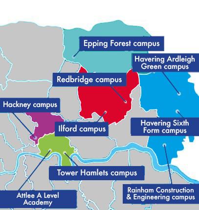 Find your nearest campus