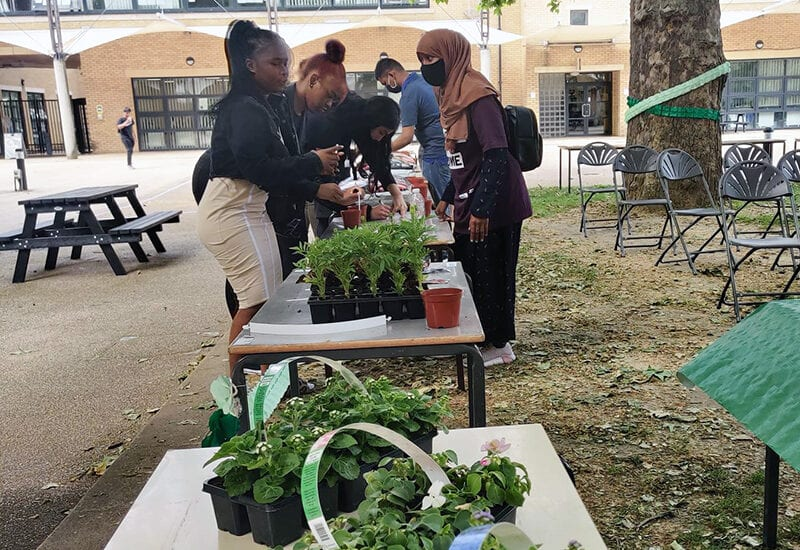 New City College held its very first Green Day to celebrate the launch of a new Green Strategy that will see the college prioritise an environmentally-friendly agenda.