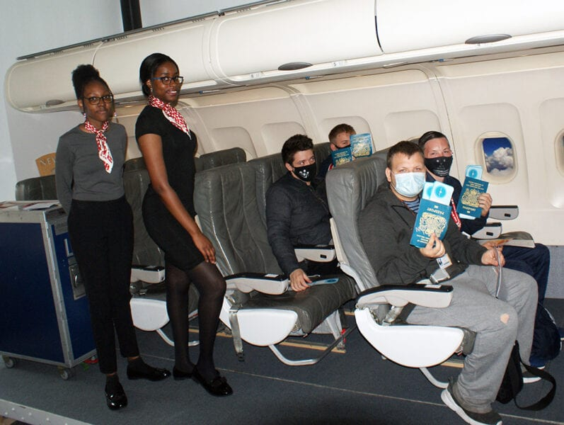 Students 'fly' to Mexico – without leaving college!