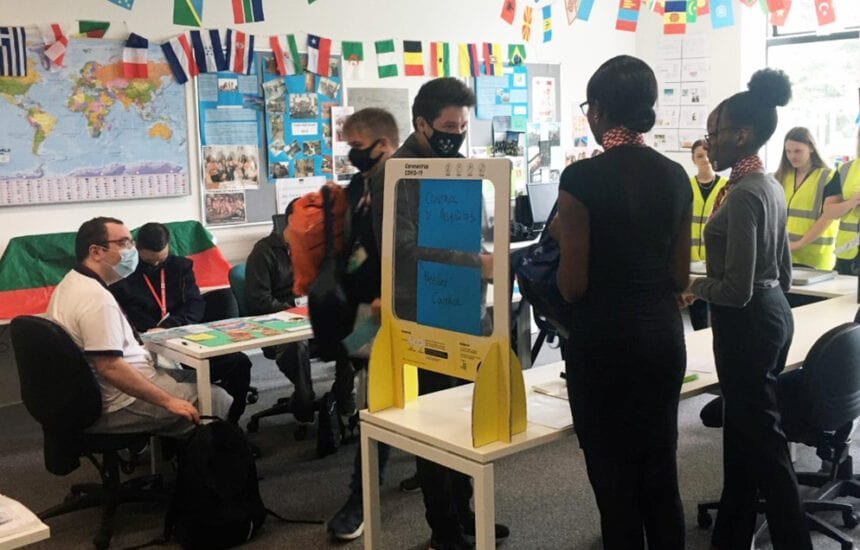 Foundation and SEND students got the chance to 'travel' to Mexico during a special day organised by the Tourism department at New City College Havering Sixth Form.