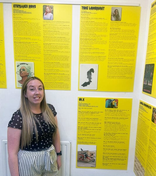 College artists showcased in newly-launched book