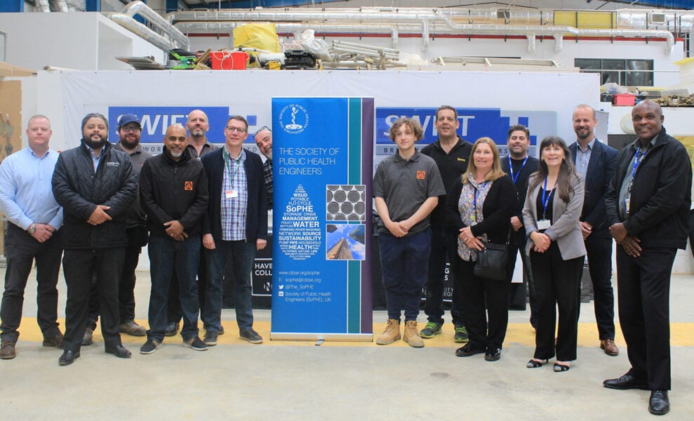 Students learn from the experts at Plumbing Industry event