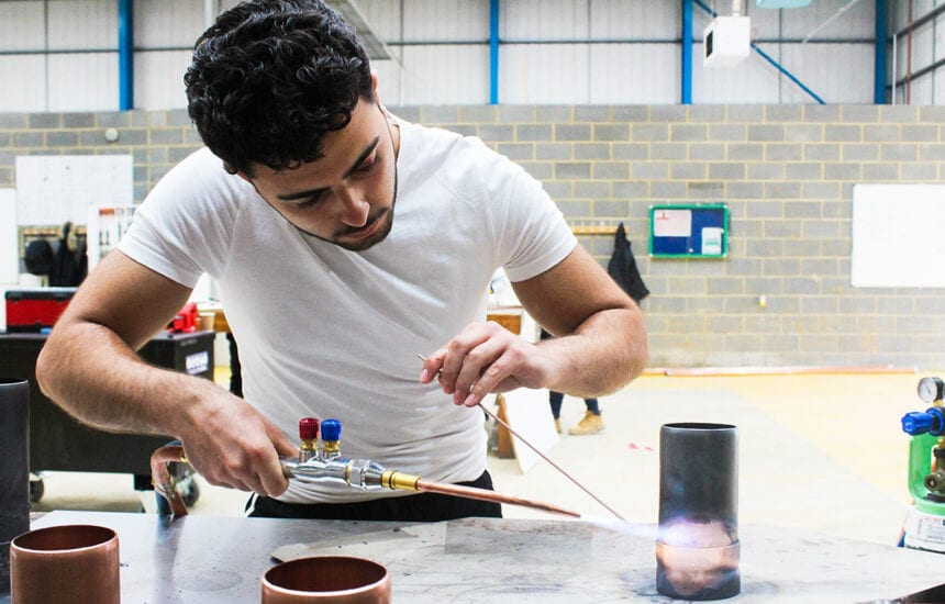 An exciting Industry Day with live demos and competitions was held at our brand new £15m New City College Construction & Engineering Centre in Rainham for Plumbing students.
