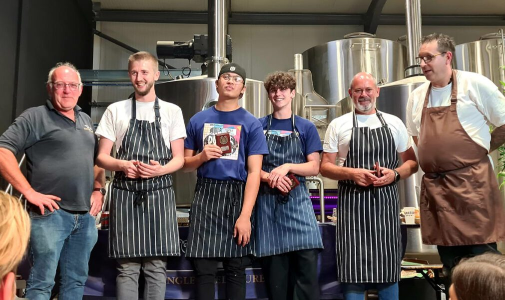 Student chefs from New City College Hackney were crowned kings of the barbecue when they won the Dingley Dell Dirty Dozen competition held at Signature Brewery, Walthamstow.