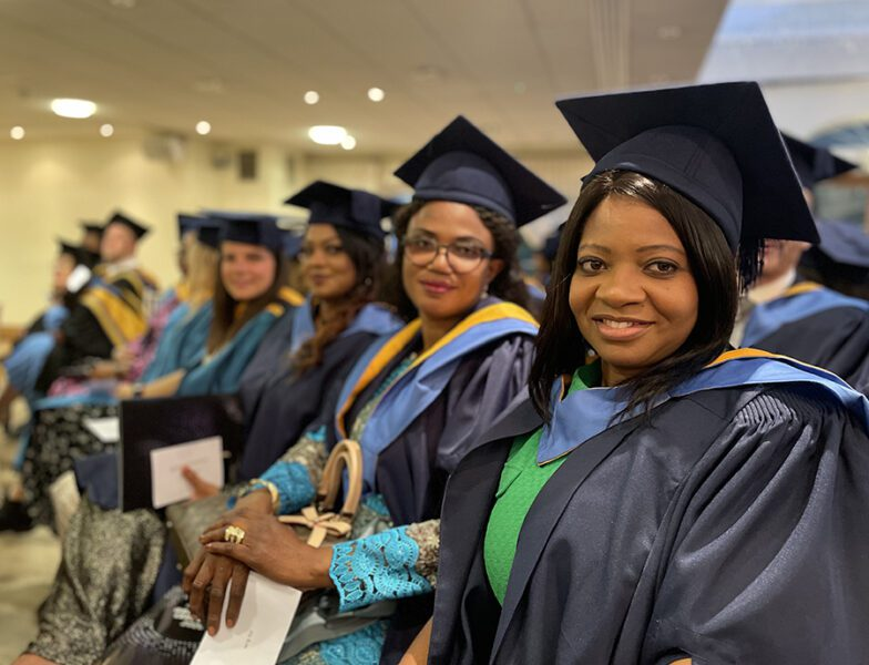Higher Education students honoured at Graduation