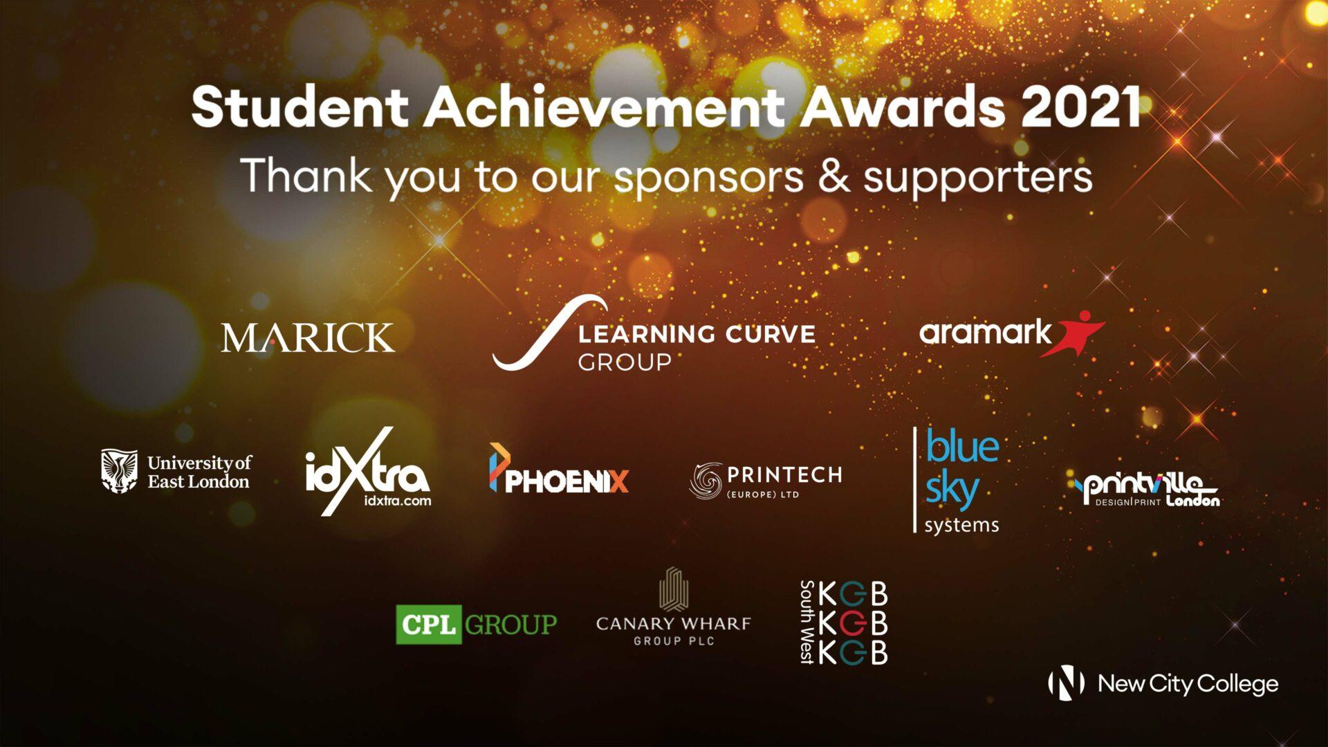 Student Achievement Awards 2021